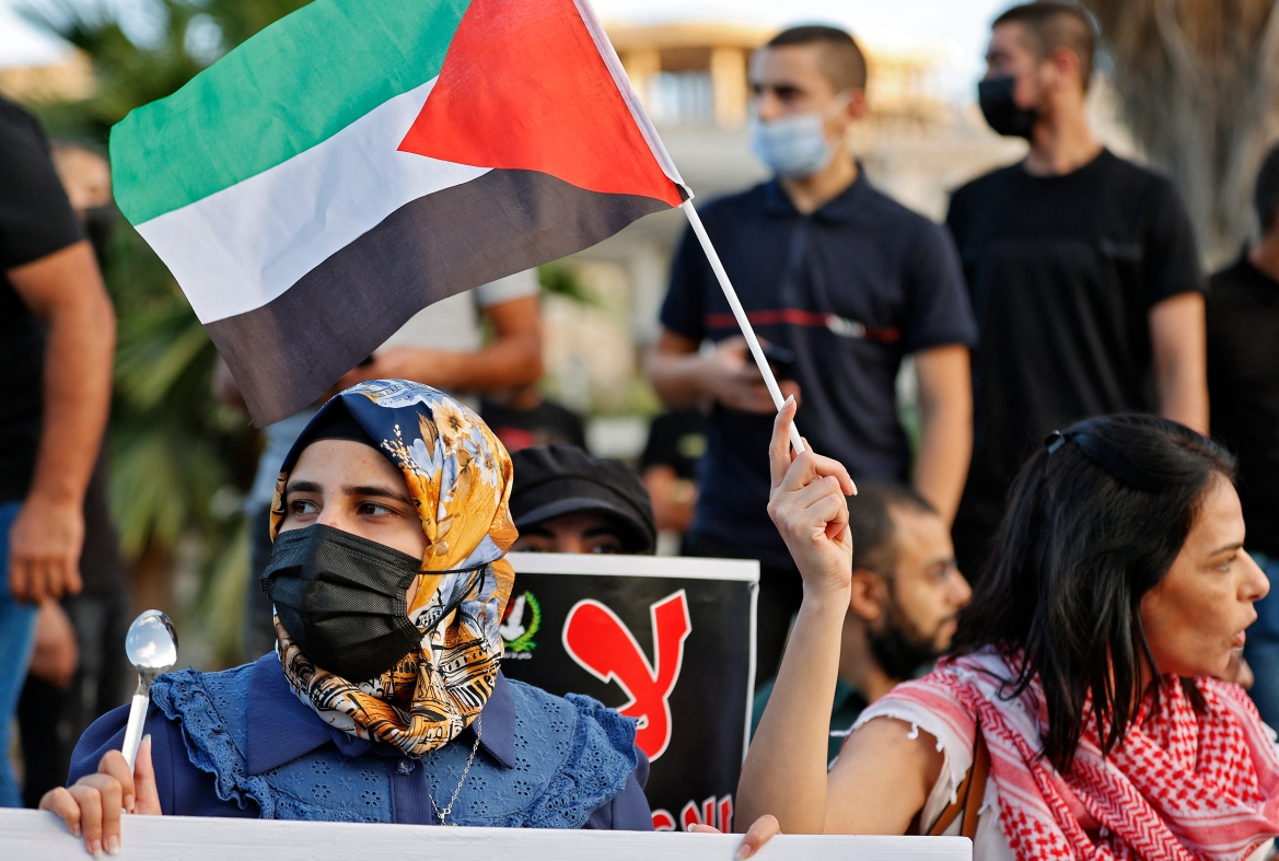 At least one of the re-arrested Palestinian political prisoners has told his lawyer he is being subjected to physical and mental abuse by Israeli interrogators. [Jack Gues/AFP]