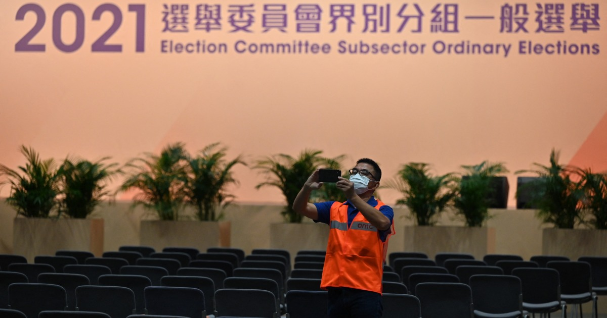 Hong Kong few select powerful new 'patriots only' committee thumbnail