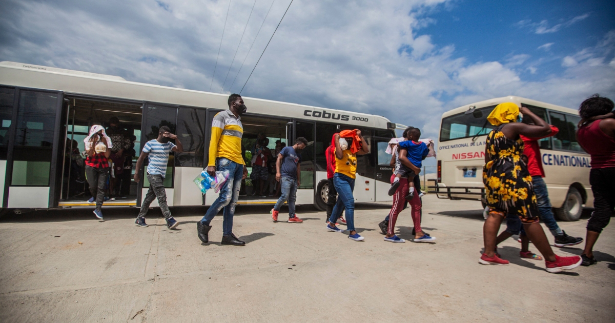 Mass expulsion of Haitian migrants from Texas continues