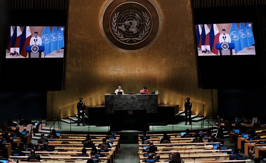 Duterte chides interference in 'drug war', calls for UN reform