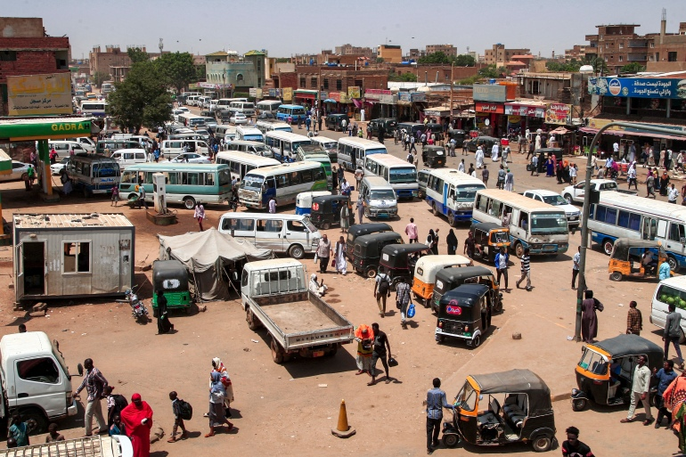 Sudan reels from fragmentation within the Forces of Freedom and Change, an alliance that spearheaded protests that deposed President Omar al-Bashir in April 2019 [File: Ebrahim Hamid/AFP]