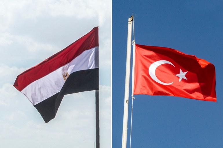 Uma delegação egípcia chefiada pelo vice-ministro das Relações Exteriores, Hamid Loza, se reunirá com uma delegação turca chefiada pelo vice-ministro das Relações Exteriores Sedat Onal em Ancara [AFP]