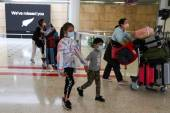 New Zealand's COVID-19 Response Minister Chris Hipkins said that reopening quarantine-free travel with Australia at this point could put at risk the gains of the country in the last week [File: Loren Elliott/Reuters]