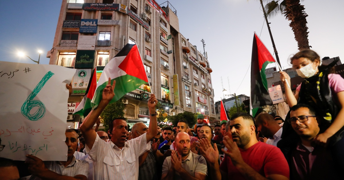 Shock and pride: Palestinians react to re-arrest of 'heroes'