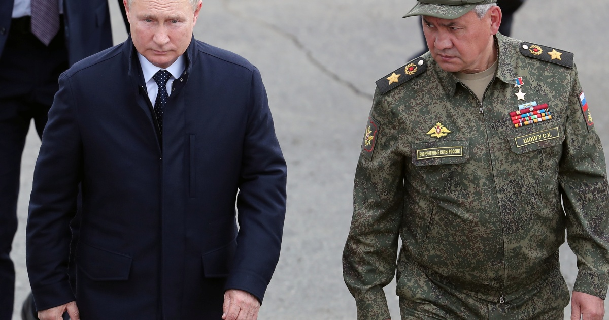Is Russia's defence chief emerging as Putin's possible successor?