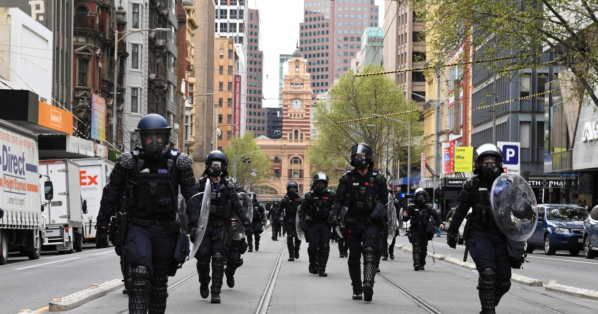 Melbourne braces for more protests amid record COVID cases