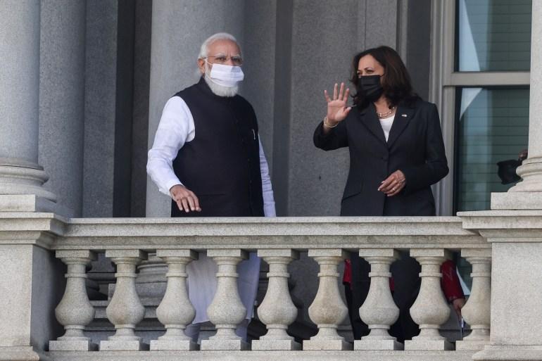 Harris to Modi: 'Incumbent on our nations to protect democracies'   Human  Rights News   Al Jazeera