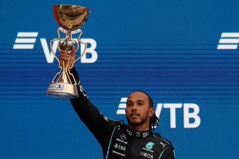 Hamilton wins 100th Formula One race with victory in Russian GP | Russia  News | Al Jazeera