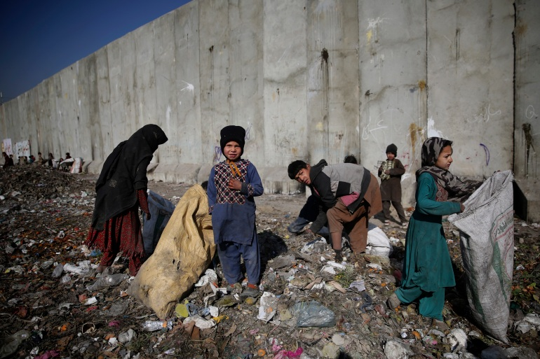 The UN is warning that Afghanistan faces 'total breakdown' without access to funds frozen overseas (File: Altaf Qadri/AP Photo]