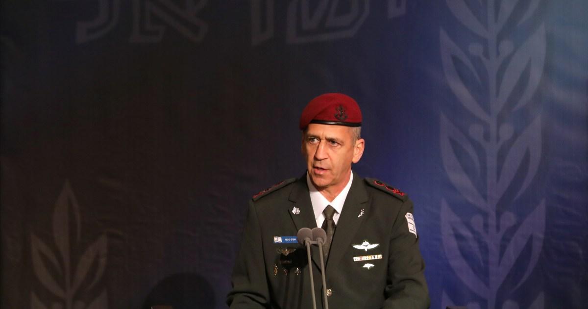 Israel's military chief says 'accelerating' Iran strike plans - Al Jazeera English