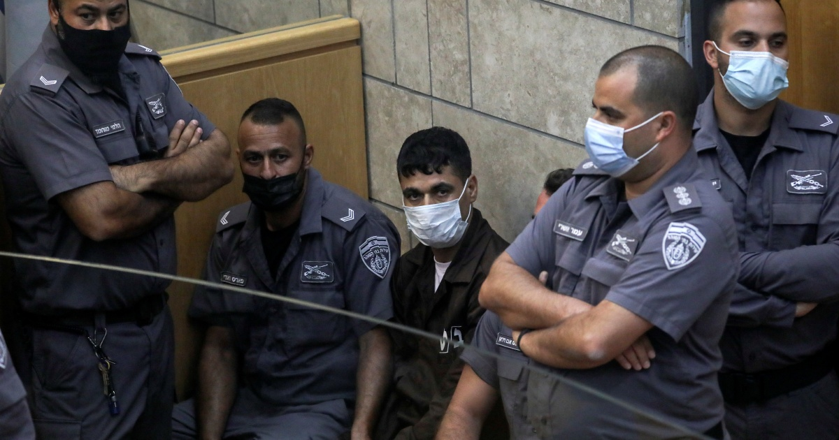 What destiny awaits the rearrested Palestinian prisoners?