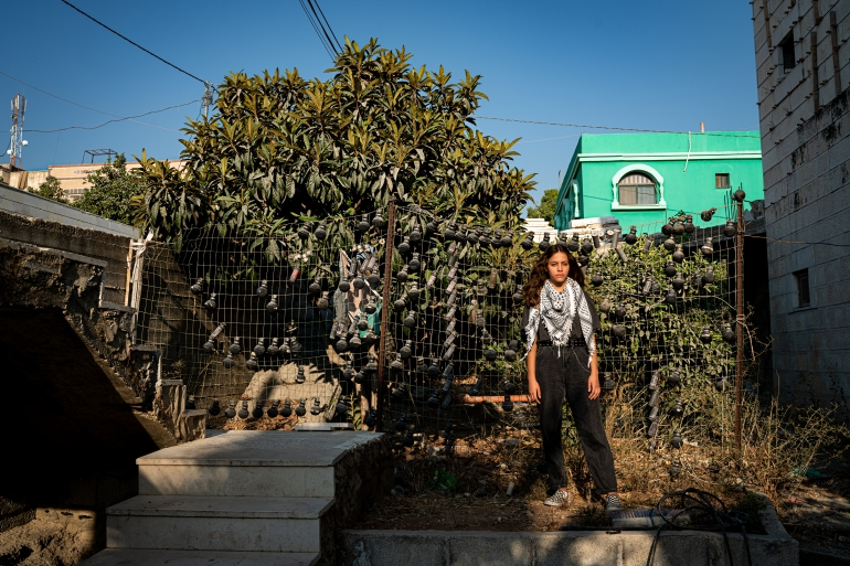 Palestinian children, like all children, have a right to be safe in their homes and schools, writes Janna Jihad, 15-year-old Palestinian activist and journalist. [Samar Hazboun/ActionAid]