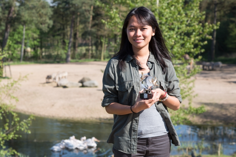 Trang has won international recognition for her work including the Future for Nature Award [Theo Krus/Courtesy of Trang Nguyen]