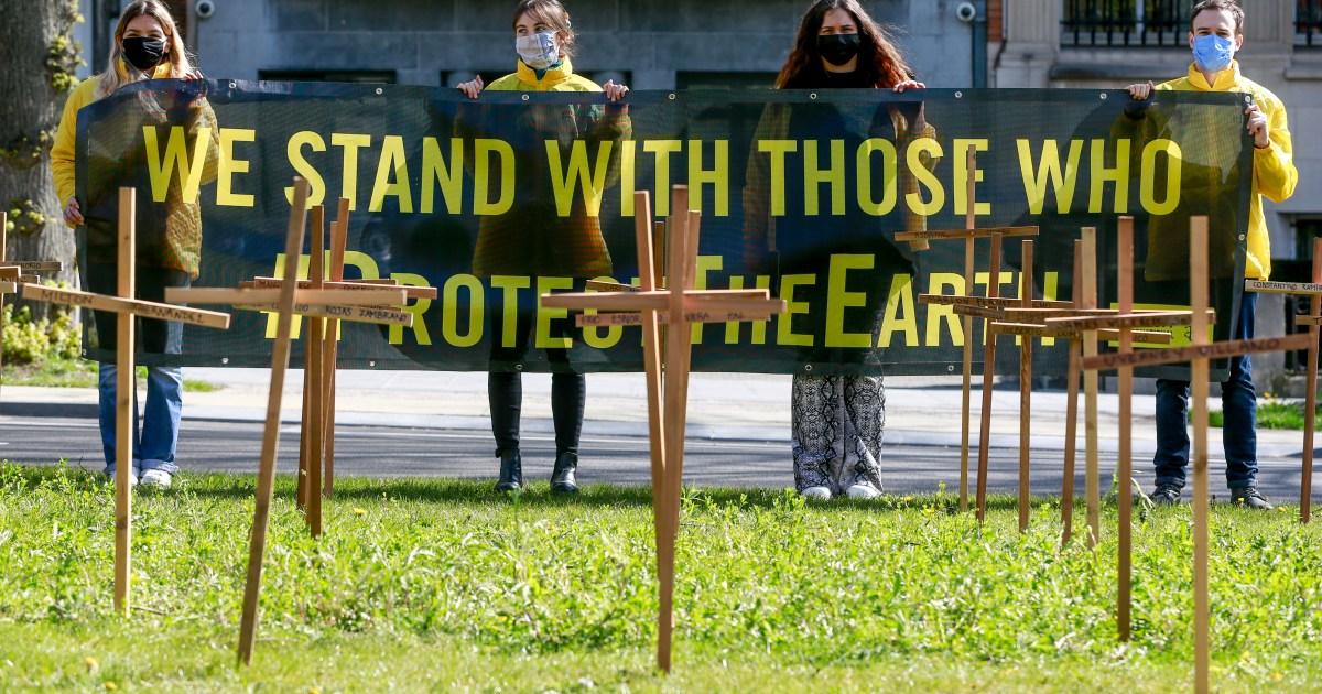 Environmental defenders killed in record numbers in 2020: Report
