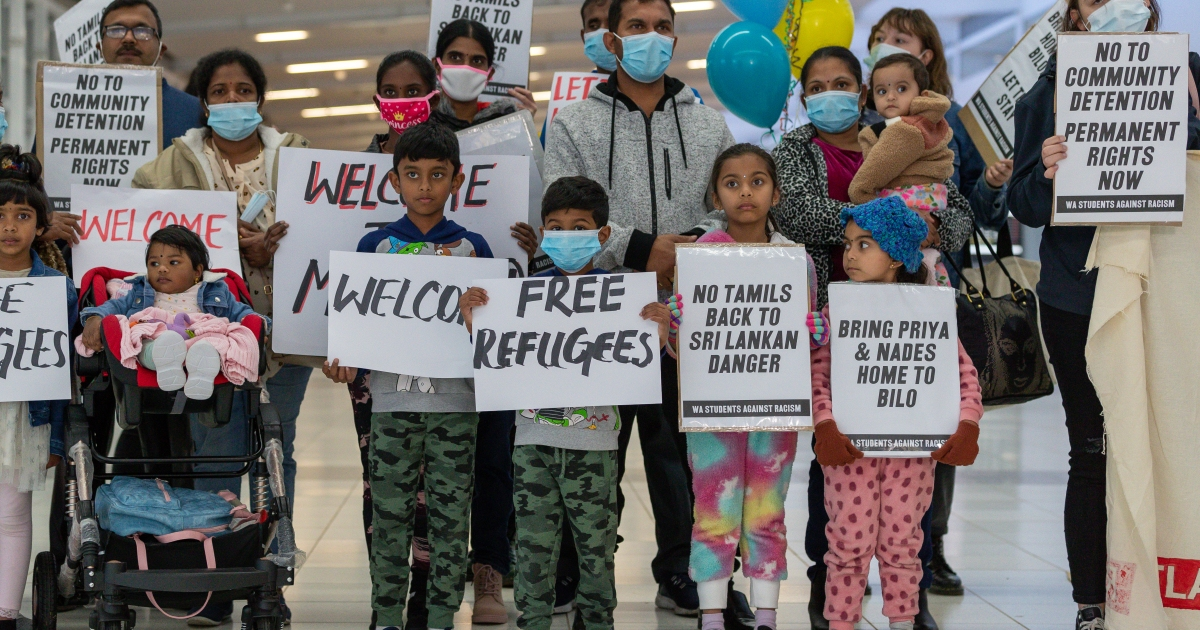 Tamil family – except youngest – granted 12-month Australia visas