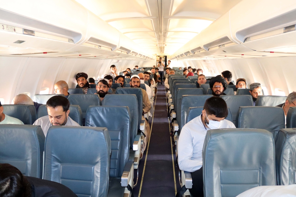Afghanistan's major airports re-opened for domestic flights as the Taliban pressed ahead with attempts to foster a sense of normality weeks after it swept to power. [EPA]