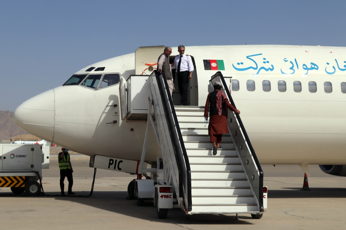 Flights between Kabul and Herat in the west, Mazar-i-Sharif in the north, and Kandahar in the south have resumed. [EPA]