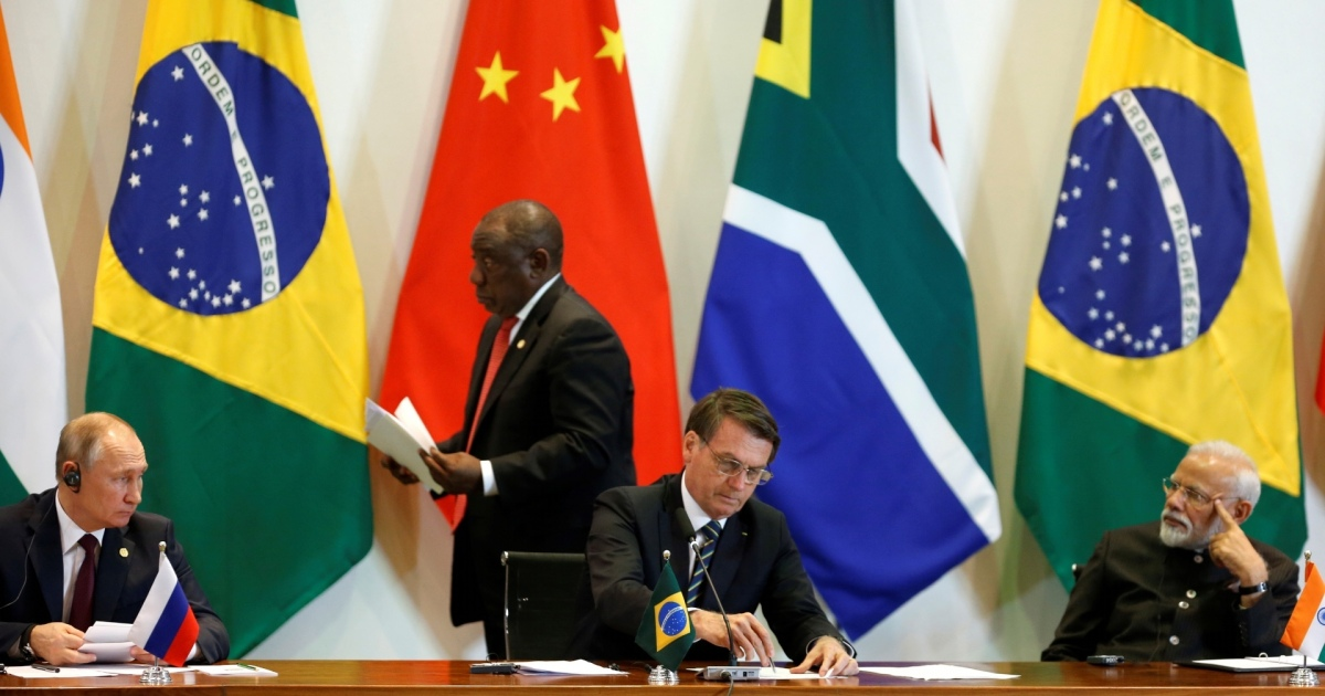 Have the BRICS moved the centre of economic and political power?