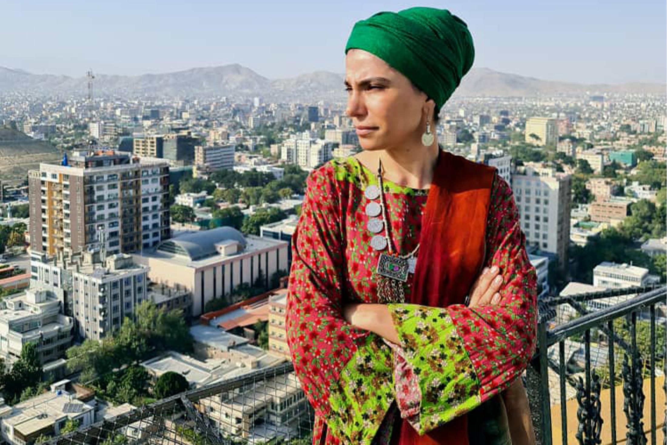 Nadima se pergunta o que o futuro reserva para as mulheres no Afeganistão e questiona por que a maioria dos homens não está com elas para falar por seus direitos [Photo courtesy of Nadima]