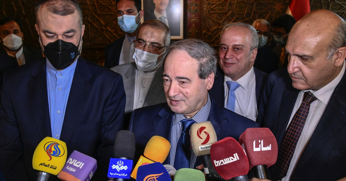 , Iran's foreign minister holds talks with Syria's Bashar al-Assad, The World Live Breaking News Coverage & Updates IN ENGLISH