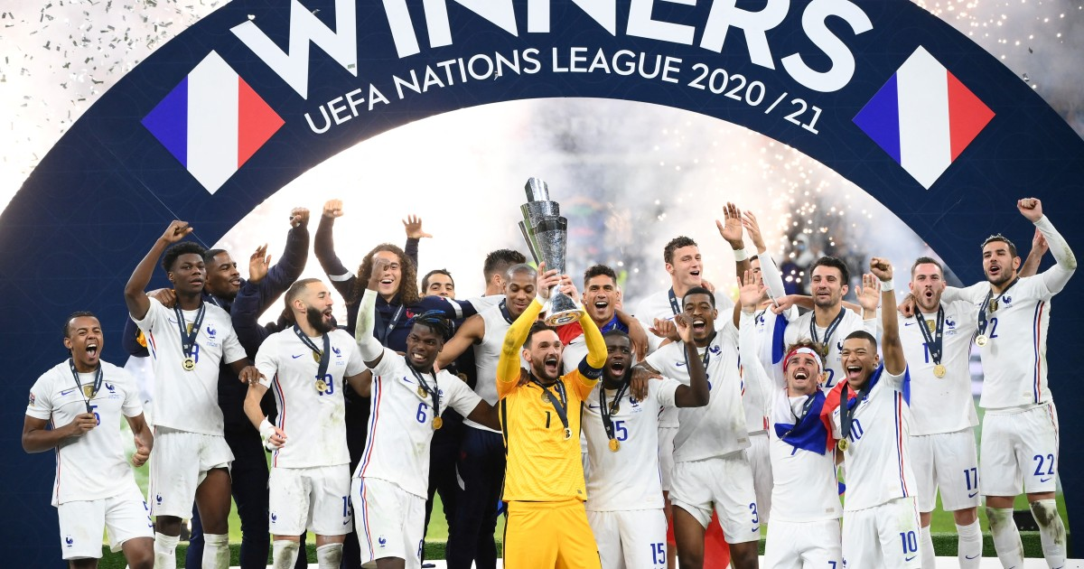 Mbappe's winner takes France to Nations League title thumbnail