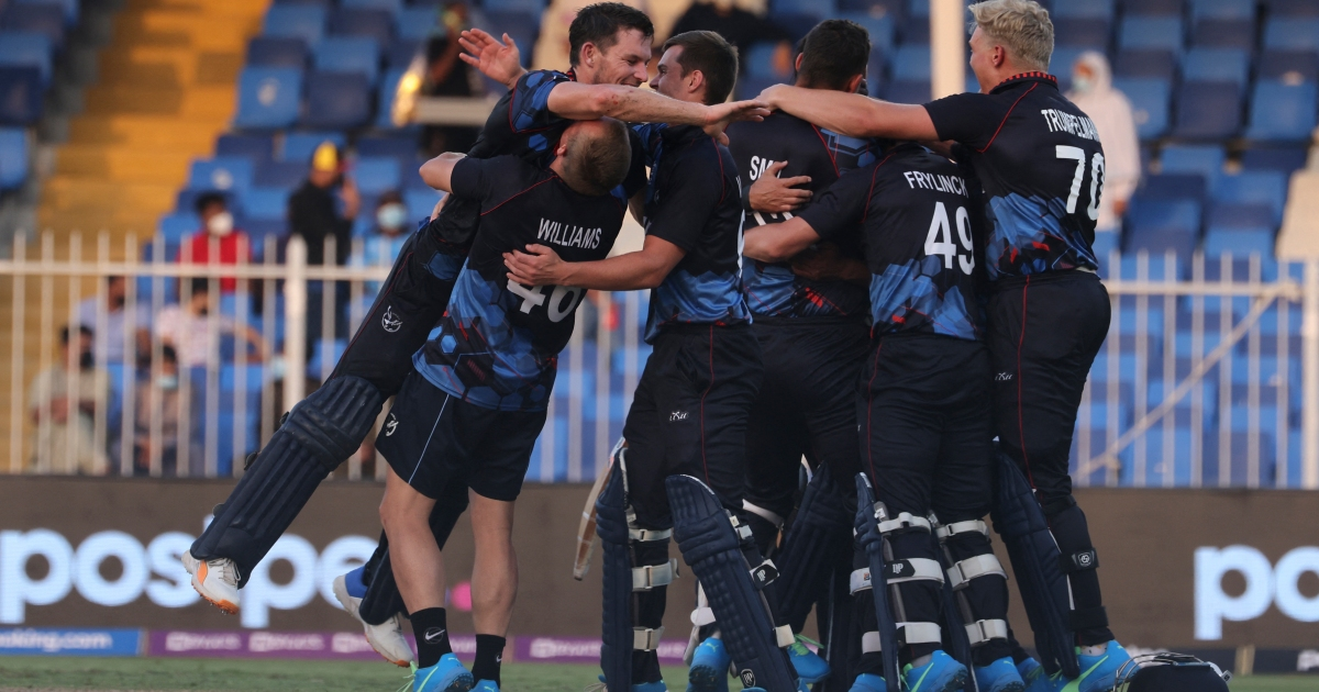 Cricket: How Namibia sealed one of T20 World Cup's biggest shocks
