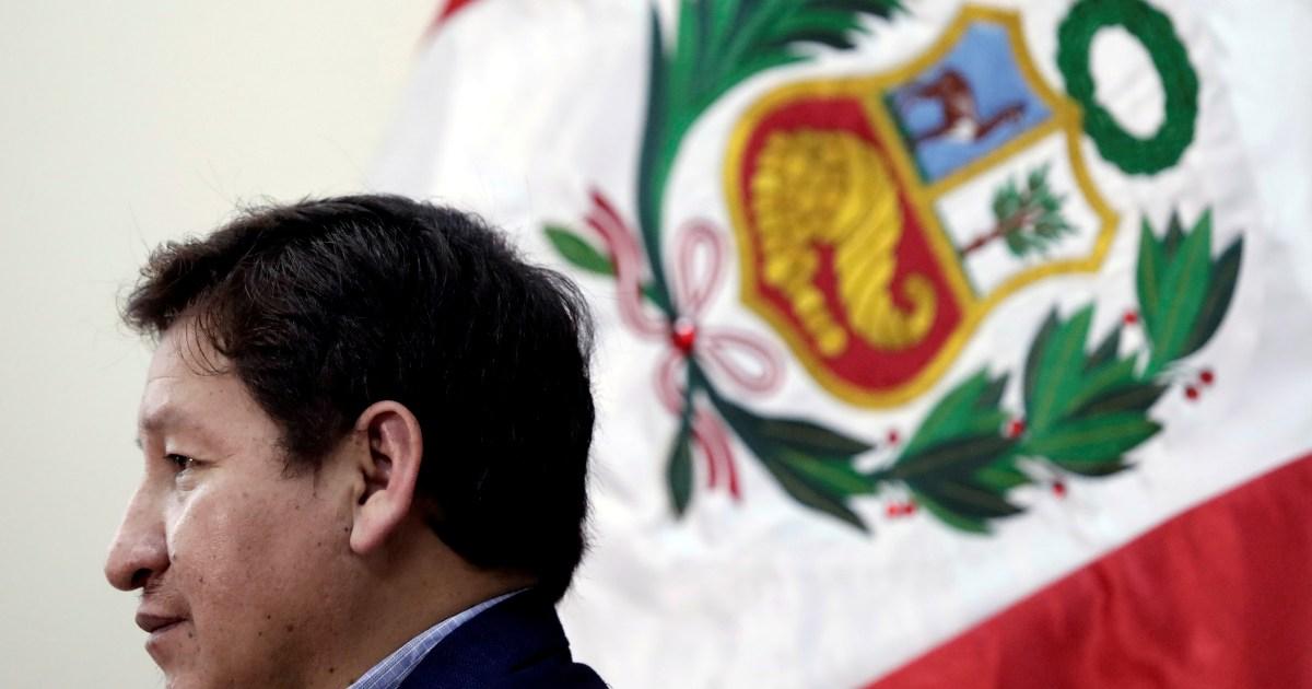Peru's President Castillo broadcasts resignation of prime minister thumbnail
