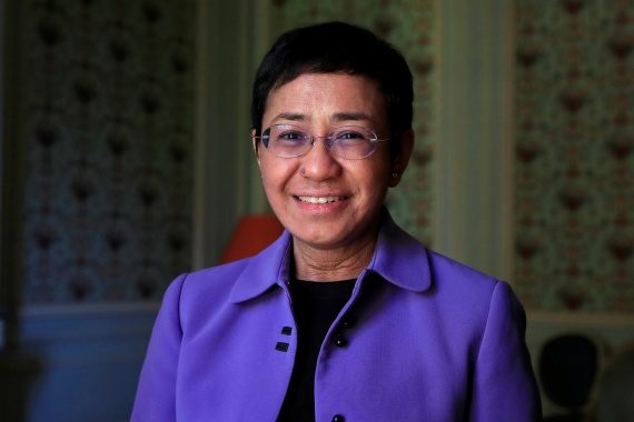 Q&A: Nobel Peace Prize winner Maria Ressa | Freedom of the Press Information