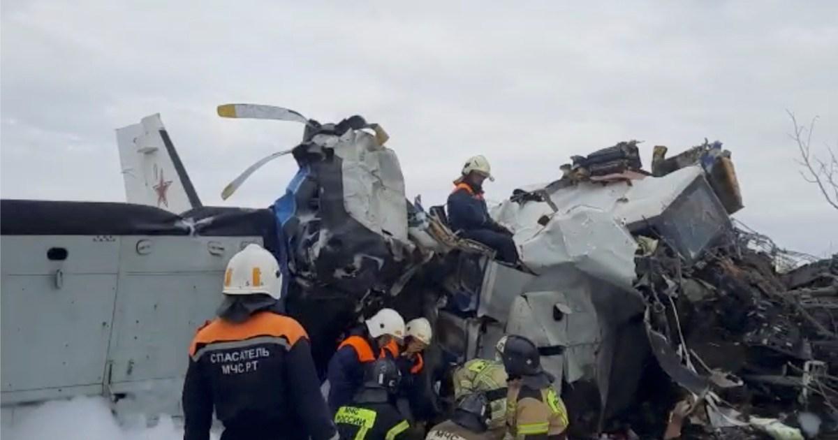 Sixteen killed after plane crash in Russia's Tatarstan region   News   Al  Jazeera