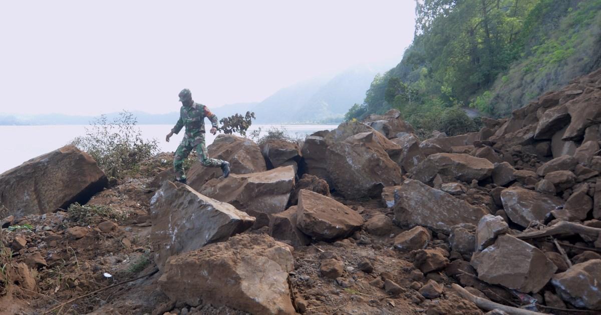 Magnitude 4.8 earthquake rocks Indonesia's Bali thumbnail