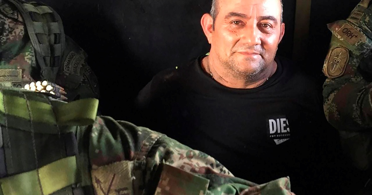 Otoniel: Colombia's most wanted drug lord captured