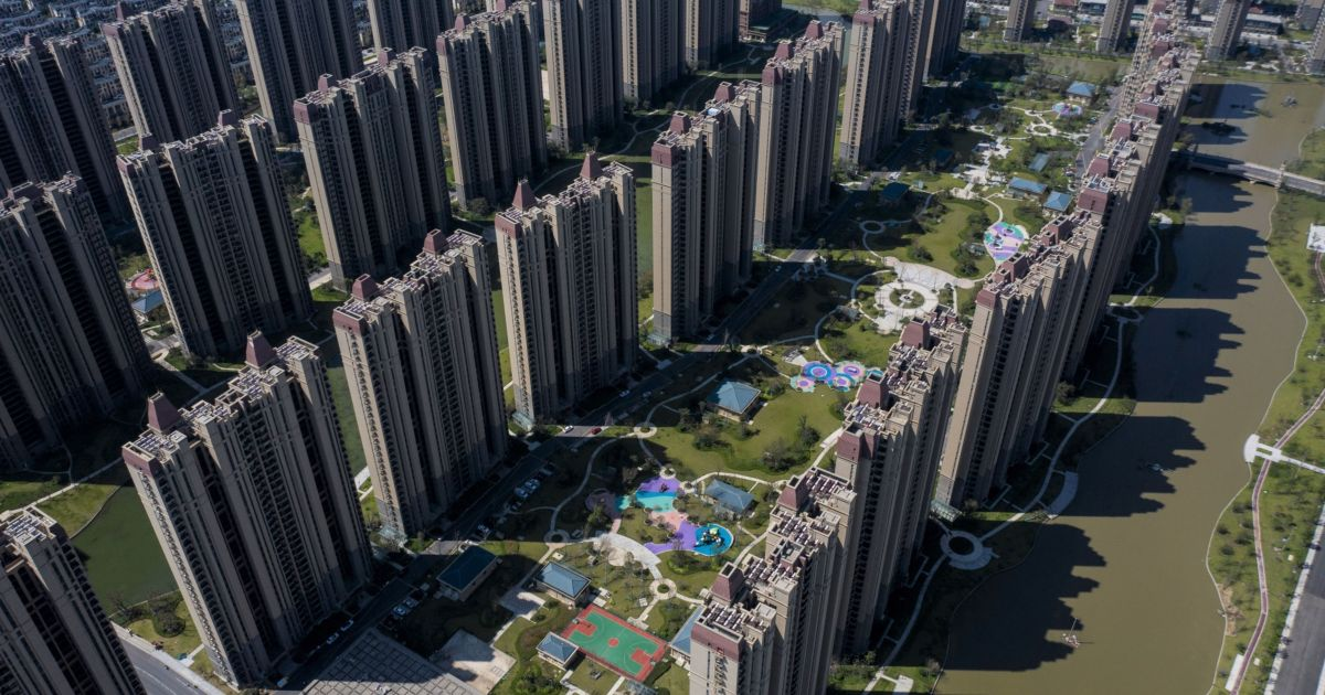 China's central bank says Evergrande risks are 'controllable'