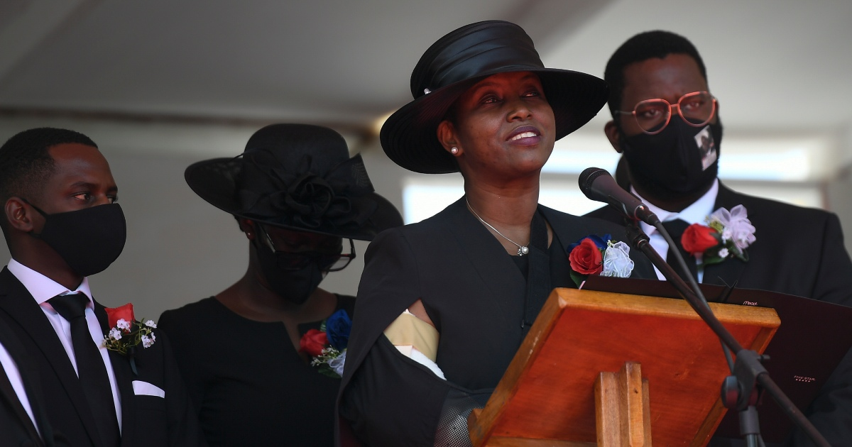 , Wife of Haiti slain president says 'won't stop' push for justice, The World Live Breaking News Coverage & Updates IN ENGLISH