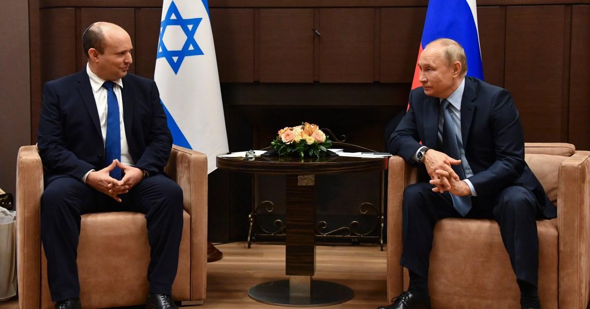Watch Russia's Putin hosts Israeli PM Bennett to speak about Syria, Iran – Al Jazeera English News