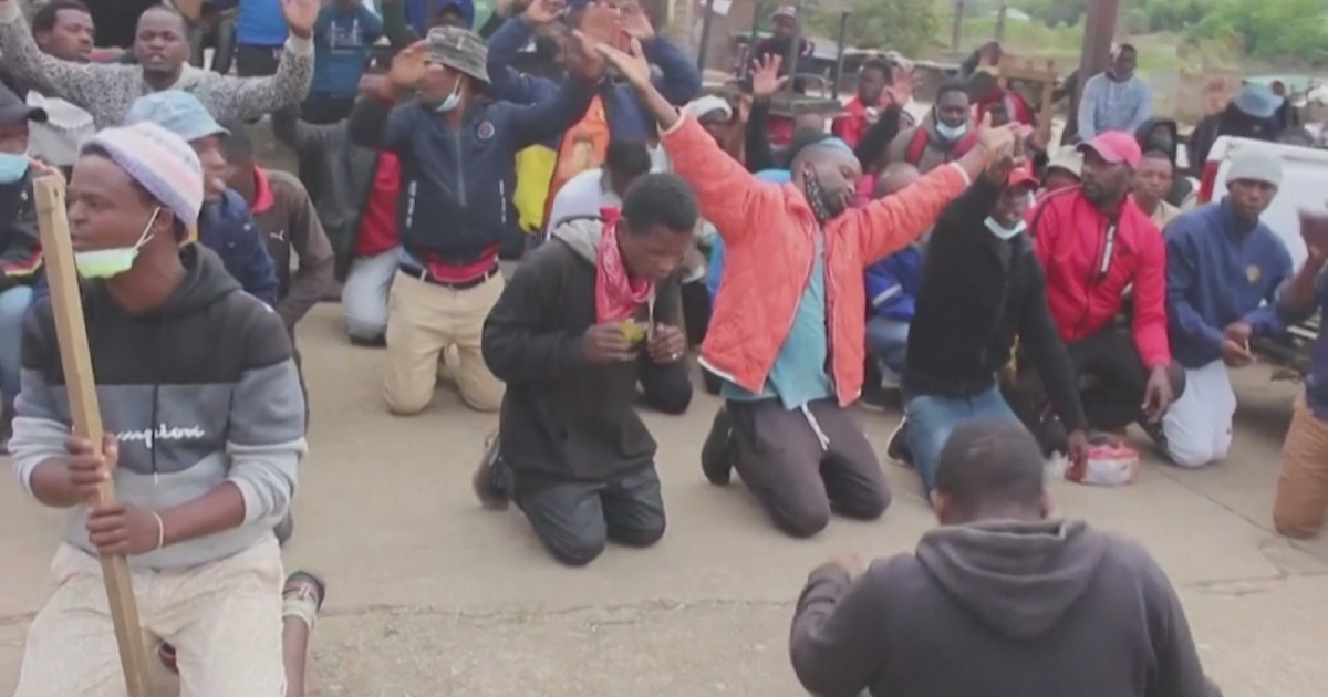 Eswatini bans protests as tensions flare amid pro-democracy calls